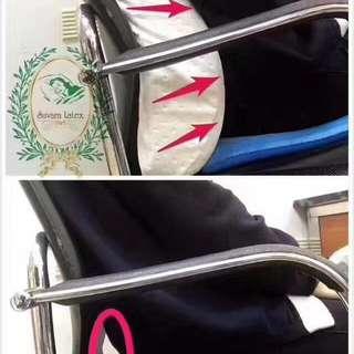 100% natural latex lumbar cusion-back support