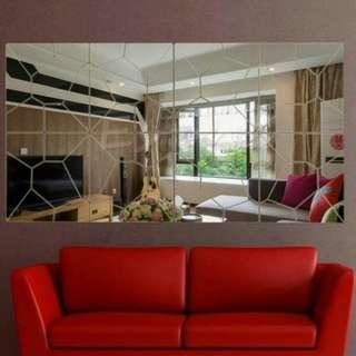Wall Sticker Wallpaper Hiasan Dinding Dekorasi Kaca