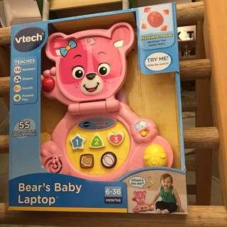 Vtech Bear's Baby Laptop