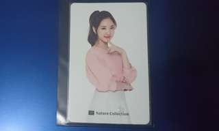 Twice Im Nayeon Nature Collection Photocard