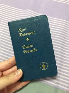 Mini New Testament Bible