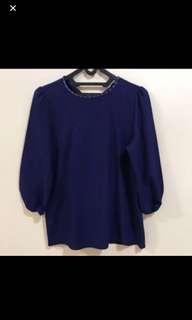 Baju navy blue