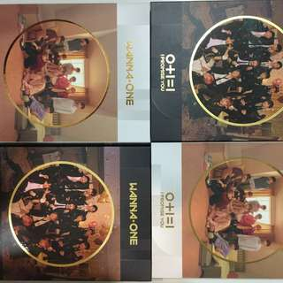 WANNA ONE I PROMISE YOU PHOTOCARDS, TAZO AND MIRROR CARD