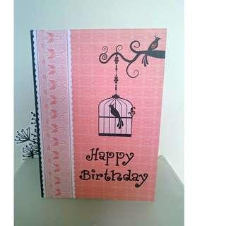 Birthday Card (handmade)