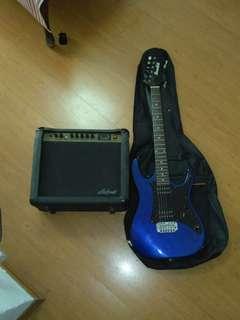 Electric Guitar Set(+Amp)