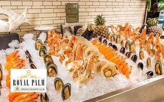 (Fri - Sun / Eve of PH / PH) Royal Palm International Buffet Dinner for 1 Adult