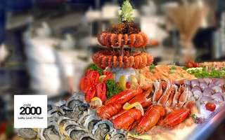 (Sat - Sun) Crab and Seafood Extravaganza Lunch Buffet for 1 Adult