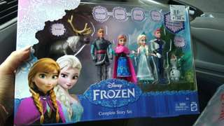 Disney Frozen Complete Story Set Toy Cake Toppers