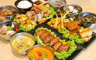 Thai Cooked Food Lunch Buffet for 1 Person