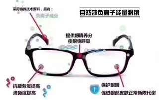 自然沙眼鏡