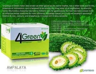 4 green Capsule