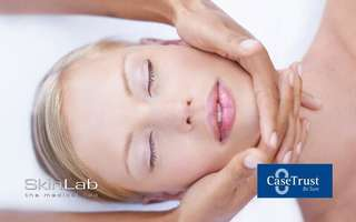 1.5-Hour Intense Hydration HA Facial + Lymphatic Eye Drainage for 1 Person (2 Sessions)