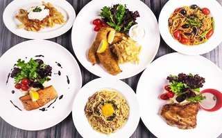 2-Course Western Meal with Drink for 1 Person
