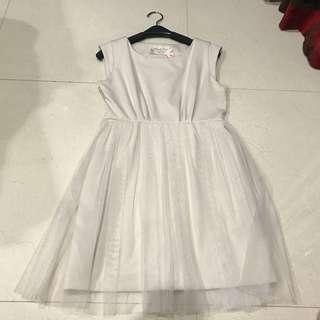 Cream Ballerina Dress