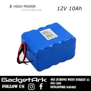 12V10ah External Lithium Battery Pack for E Scooter Electric Scooter