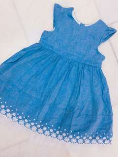 H&M💙Jeans Lace Dress