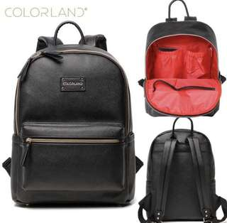 (PO)Colorland Backpack Diaper Bag