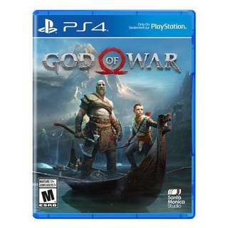 Wanted to Sell/ Trade Preowned PS4 God of War.