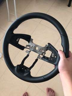 Brand new civic fc civicx steering wheel. Original honda