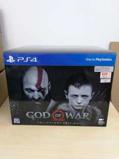 Wanted to Sell/ Trade PS4 God of War Collector's Edition.