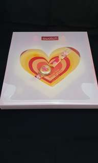 Aiming for your heart Swatch 2003 special package with darts and magnetic board