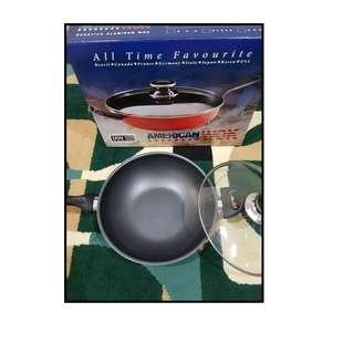 Panci Wok America Anti Lengket Tampa Minyak Best Seller