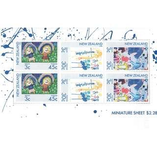 Miniature Sheet NZ 03