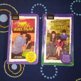 Pop Fiction Wattpad Books (Per Pair)