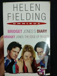 Bridget jones dairy and the edges of reason. 2 in 1 book