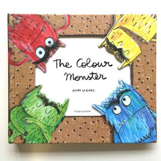 The Color Monster 3D Pop Up - HardCover (All Brand New)