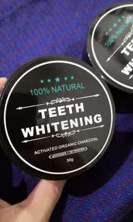Ready Stock Natural Teeth Whitening Powder Activated Charcoal