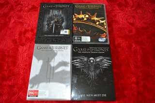 Lot Dvd Game of Thrones