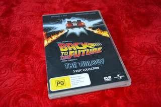 Dvd Trilogy Back to the future