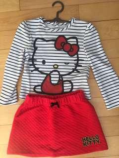 Hello Kitty Dress set 24 months