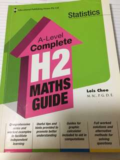 A Level Complete H2 Maths Guide (Statistics)