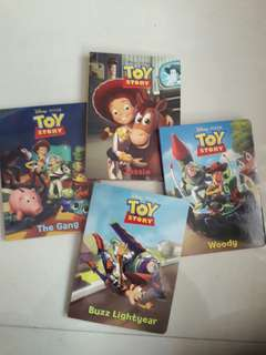 The Toy Box - Toy Story (4 BOARD BOOKS INSIDE)