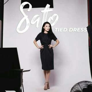 Sato Tied Dress