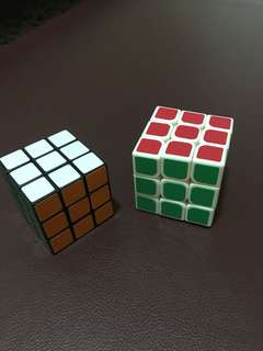 Rubik's Cube$3/both