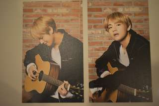 Taehyung V mediheal postcard
