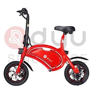 DYU Seated Electric Scooter 10.4Ah Red