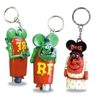 Rat Fink Lighter Holder Keychain