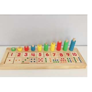 Numeral Matching Puzzle