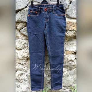 Ex-Display Celana Panjang Jeans Murah Navy Blue Terbaru 2018