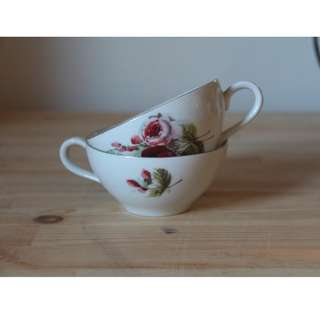 English tea cups