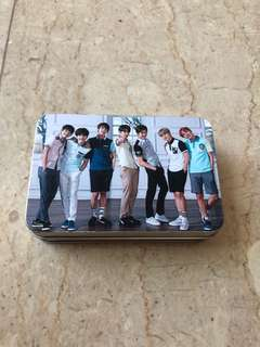( BTS ) 30PC LOMO CARDS WITH METAL BOX