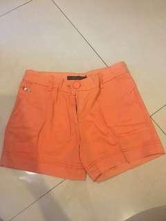 TWENTYONE Orange Shorts