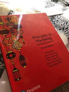 Principles of marketing 4th edition Asian