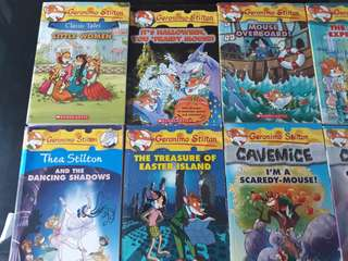 Geronimo Stilton Books(10 books)