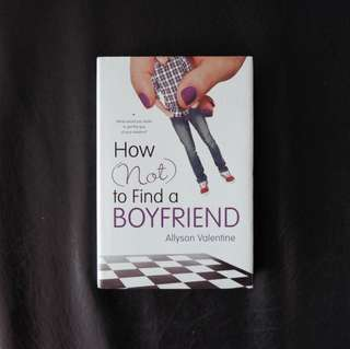 How not to find a boyfriend Book