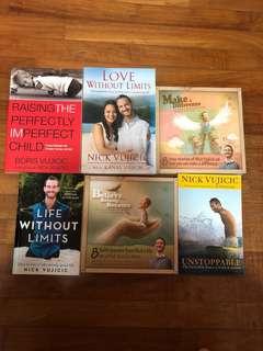 Books about Nick Vujicic